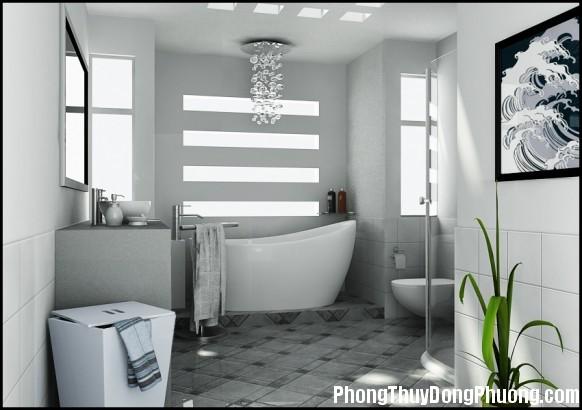 co nen mo cua so cho phong ve sinh2 Có nên thiết kế cửa sổ cho phòng vệ sinh ?