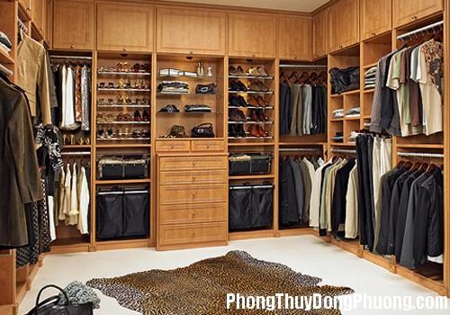 khu mui tu quan ao Chọn vị trí đặt tủ quần áo theo phong thủy