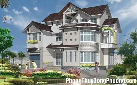 phong thuy nha dep Thiết kế nhà đẹp hợp phong thủy
