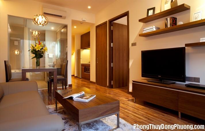 thiết kế chung cư Cách khắc phục những bất lợi của căn hộ chung cư