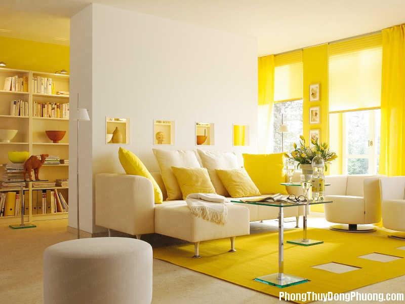 trithucsong.com 7e1e801e5468c7d2cf4ba1aa01dcb469635380111766241066 Sử dụng màu vàng hợp lý trong trang trí nhà ở