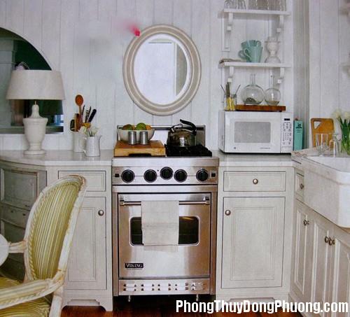 1380449894 2 Có nên đặt gương trong bếp ?
