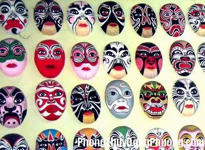 mntuong2 Những chiếc mặt nạ không nên treo trong nhà