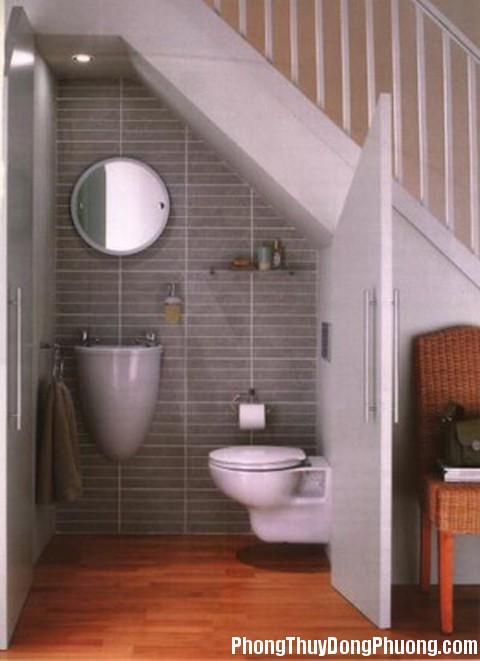 phong thuy 136 bqkd Cách hóa giải cho cầu thang thẳng cửa phòng vệ sinh