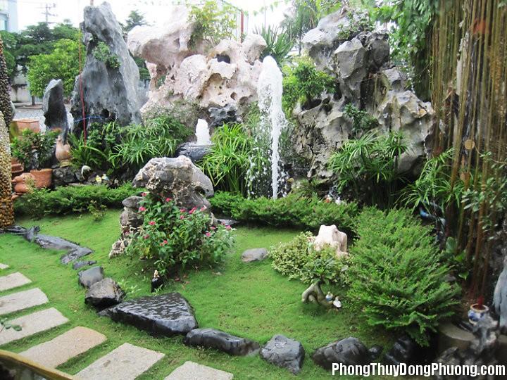 thietketieucanhsanvuondep Bố trí vật dụng sân vườn hợp phong thủy