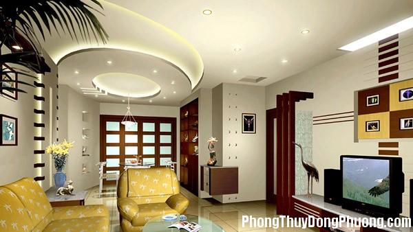 tran nha thach cao 4 Cách làm trần nhà  mang lại nhiều may mắn cho chủ nhân
