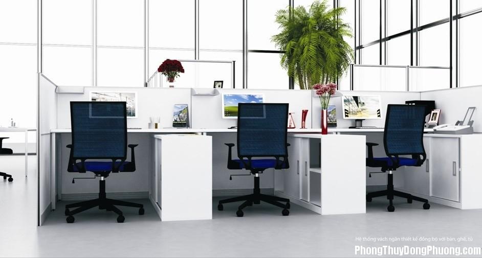 Bố trí văn phòng theo phong thủy