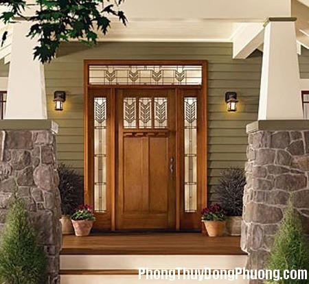 20140919170319523 Cửa chính quyết định sự lành dữ của ngôi nhà