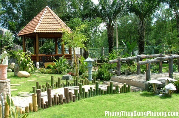 20141007134843681 Phong thủy bài trí cho khu vườn