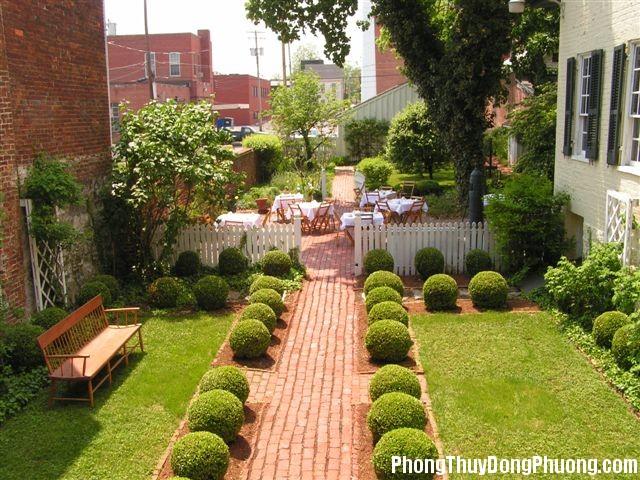20141007135122972 Phong thủy bài trí cho khu vườn