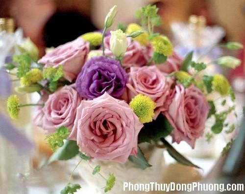20150102014549899 Sử dụng hoa tươi trang trí hợp phong thủy cho nhà ở
