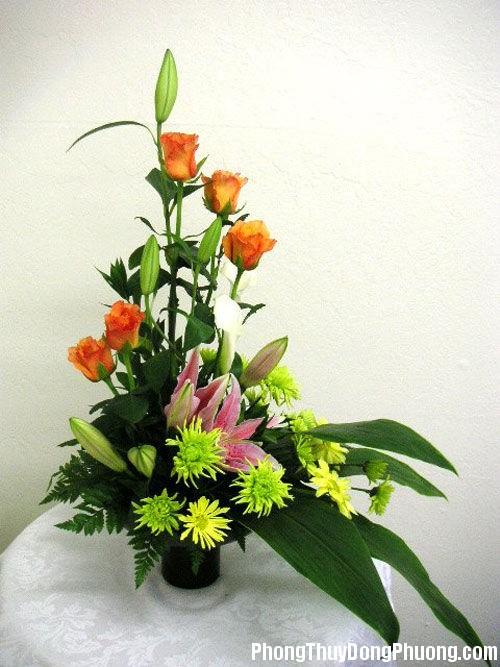20150102014554142 Sử dụng hoa tươi trang trí hợp phong thủy cho nhà ở