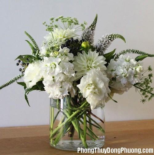 20150102014558104 Sử dụng hoa tươi trang trí hợp phong thủy cho nhà ở