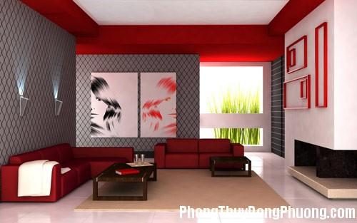 phong thuy 1 3 Ảnh hưởng của màu sắc nội thất trong phong thủy