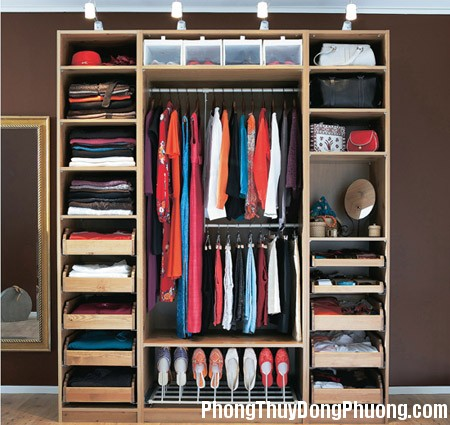 20150519113624 e37e Phong thủy may mắn cho tủ quần áo