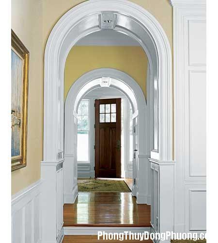 door moldings 01 Bố trí cửa đi hợp phong thủy