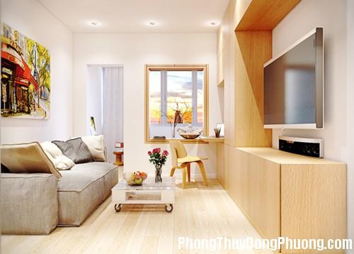 1 20141105173420 1 1415245450188 Phong thủy mang lại thịnh vượng cho căn hộ nhỏ