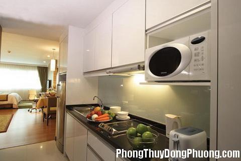 988 k5 1 RPFM Bố trí bếp cho căn hộ chung cư hợp phong thủy