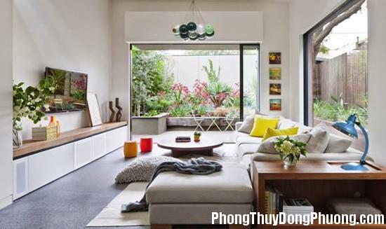 khi Phân chia không gian giúp bình ổn nội khí trong nhà