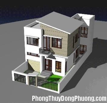 nha Cách xây nhà trên đất méo hợp phong thủy