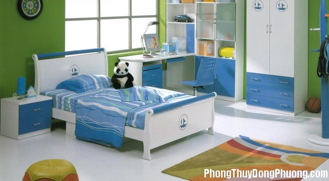 phong ngu 1414379597890 crop 1414379620323 Những lưu ý khi bố trí phòng ngủ cho các bé yêu
