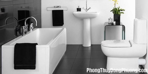 phong thủy phòng tắm Những lưu ý phong thủy cho phòng tắm