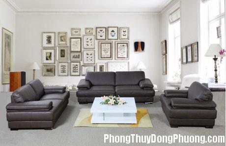3 1380874027 Bài trí sofa thu hút tài lộc