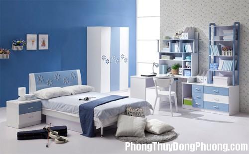 B18 machnho 4 Bố trí giường ngủ hợp phong thủy giúp bé khỏe mạnh hơn