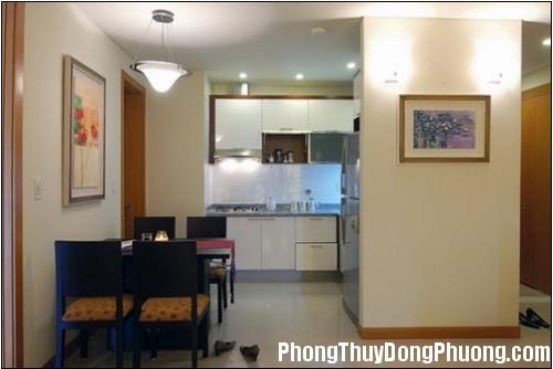 phongthuybep1 Phòng bếp nên đặt nơi có khí sinh vượng