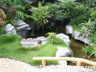 san vuon nho 4 Bố trí khoảng sân vườn nhỏ hợp phong thủy
