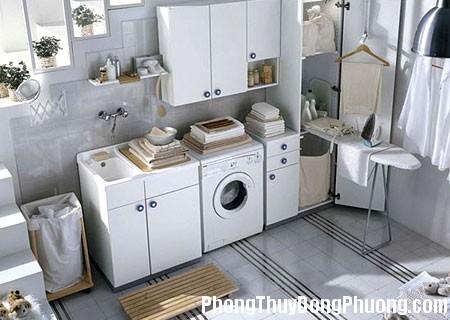 25 DOOL TT 091025 HT8 1 Phong thủy hợp lý cho chỗ giặt, phơi