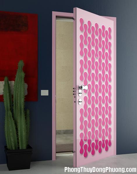 cua phong thuy 1348484887 Cách bố trí cửa phòng ngủ hợp phong thủy