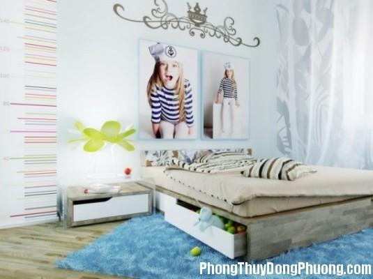 phong ngu 1362491942 Phong thủy cửa phòng ngủ cho con cái hòa thuận