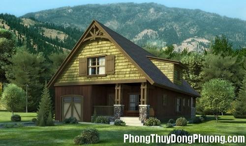 phong thuy 1443343258 Nhà tựa lưng vào núi hợp phong thủy