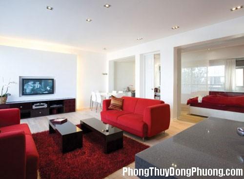 A30 201 Vai trò của màu đỏ trong phong thủy và kiến trúc nhà ở