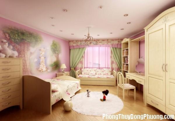 phong thuy cho phong ngu cua tre 1594682800 Thiết kế phòng ngủ của trẻ hợp phong thủy