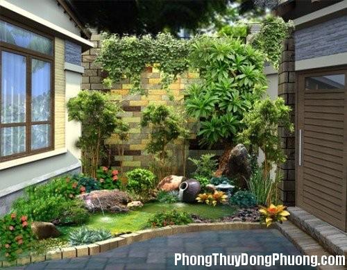 thietke san vuon nho Bố trí sân vườn nhỏ đẹp và hợp phong thủy