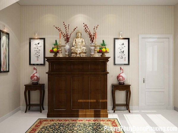 827 phongthootanglung Có nên bố trí bàn thờ ở tầng lửng ?