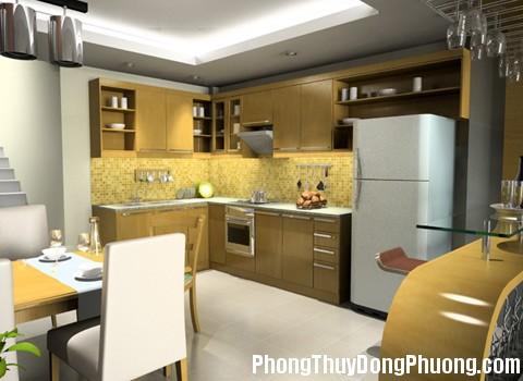 phoi canh bep 111 Nguyên tắc phong thủy cho phòng bếp