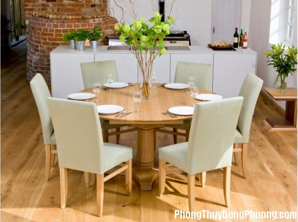 163745baoxaydung 3 Chọn hình dáng và vị trí đặt bàn ăn hợp phong thủy