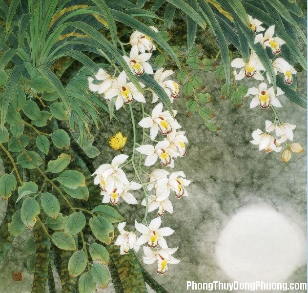 20151027152938 db91 Chọn vị trí treo tranh hoa lan hợp phong thủy trong nhà