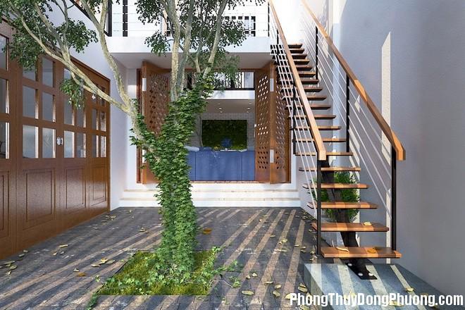 48 afcd Cách bố trí cầu thang giúp luân chuyển khí trong nhà ở