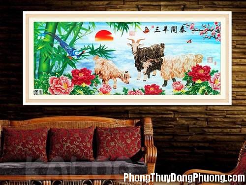 cach chon tranh phong thuy phu quy cat tuong nam 2016 1 Chọn tranh phong thủy may mắn trong năm 2016