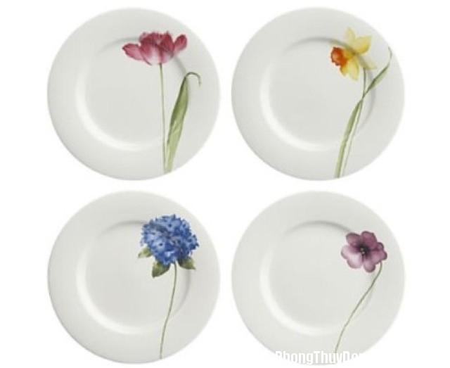 hinh dang va mau sac dia an co anh huong suc khoe Ảnh hưởng của hình dạng và màu sắc đĩa ăn đến sức khỏe