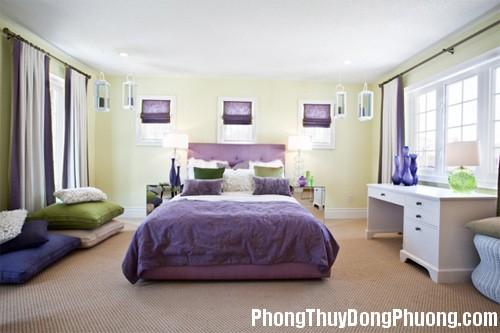 F1B mausacphongngu Ý nghĩa màu sắc phòng ngủ và tính cách gia chủ