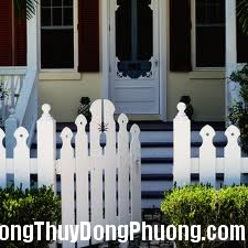 cogn nha Phong thủy cho cổng nhà vườn