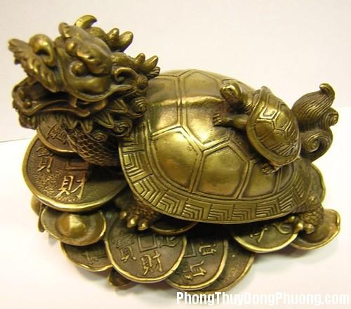 gon1990049 32cb Biểu tượng Rùa thu hút tiền tài cho gia chủ