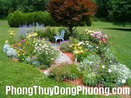 san vuon huong Phong thủy cho hương và sắc của khu vườn