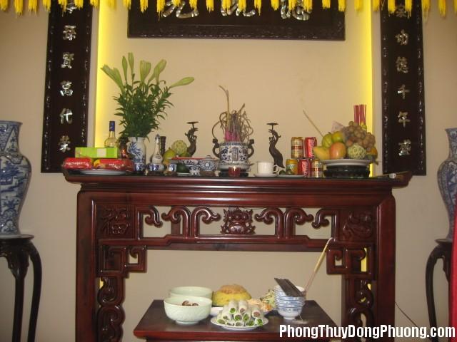 Thiet ke biet thu nha dep 08 7pg Tầm quan trọng của việc đặt bát hương trên bàn thờ