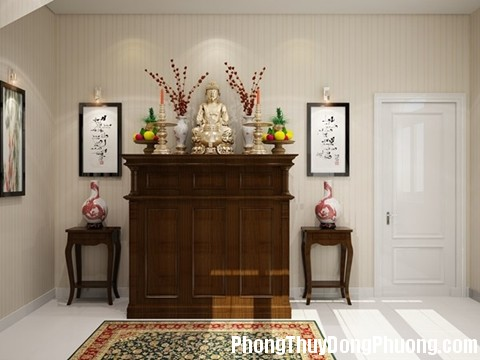 nguyen tac khong pham phong thuy khi sap xep ban tho to tien hinh 2 Quy tắc phong thủy khi đặt bàn thờ trong nhà
